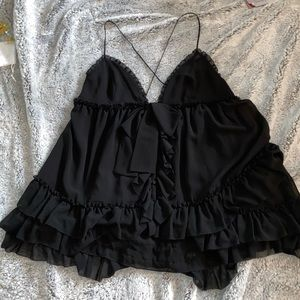 Victorias Secret 3 Tier Ruffle Nightie